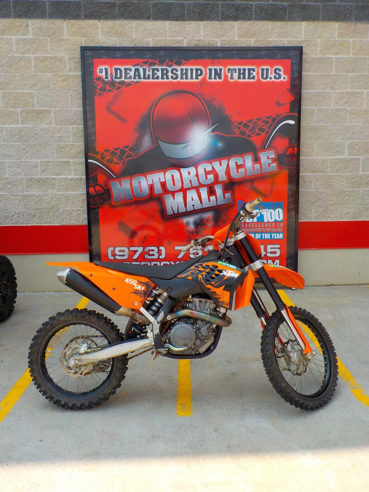 2007 KTM 450 Motorcycle From Belleville NJ Today Sale $3 999