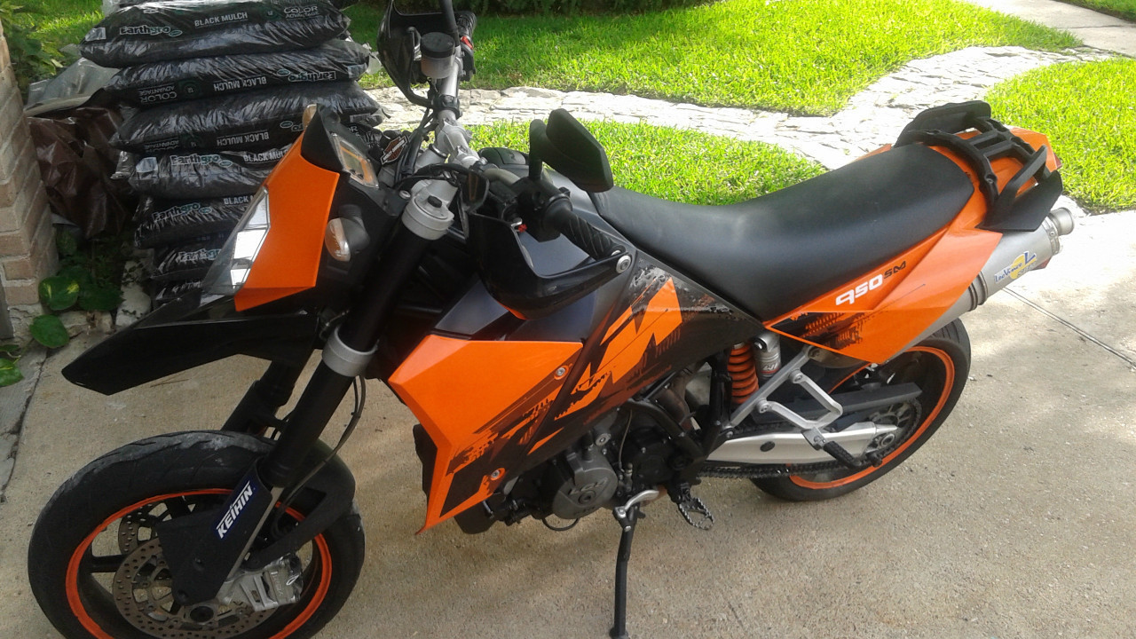 2007 KTM Supermoto 950, motorcycle listing