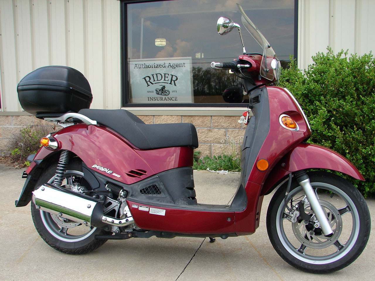 2007 Kymco People 250, motorcycle listing