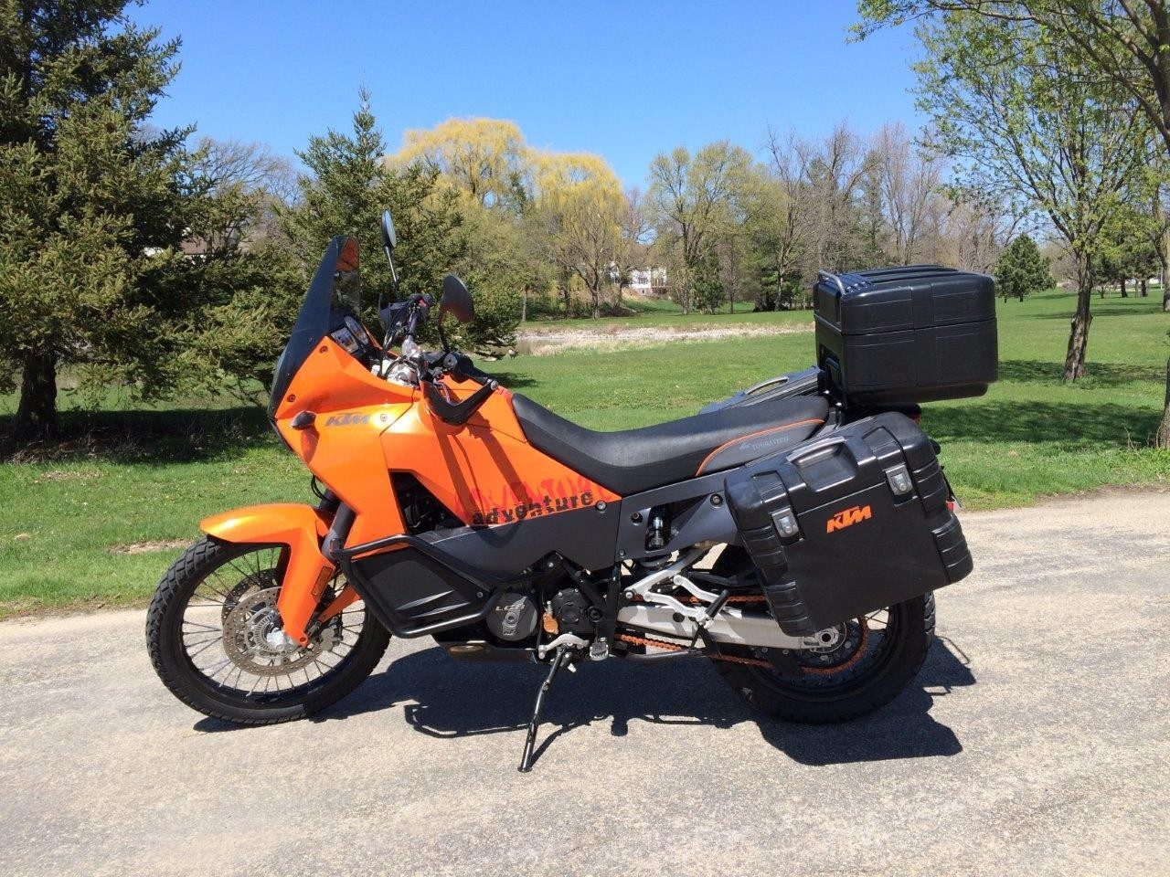 2008 KTM Adventure 990, motorcycle listing