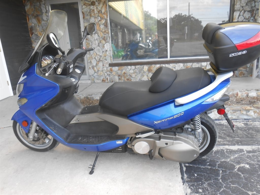 2008 Kymco EXCITING, motorcycle listing