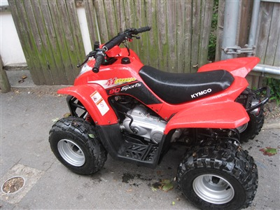 2008 Kymco MONGOOSE 90, motorcycle listing