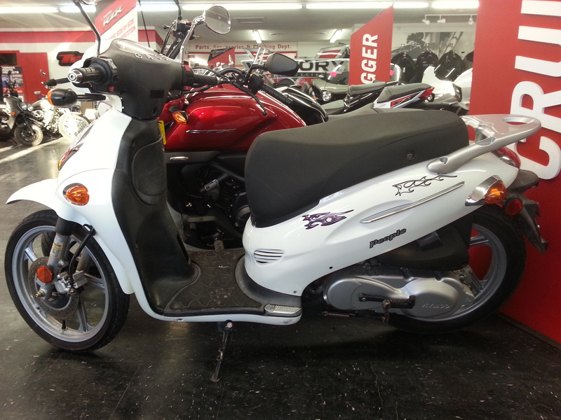 2008 Kymco People 150, motorcycle listing