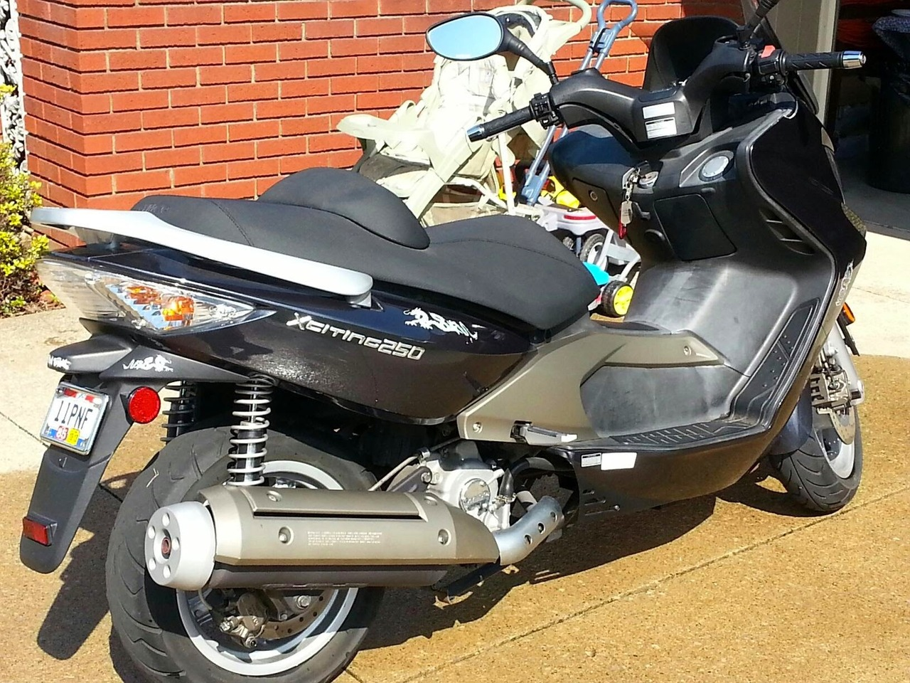 2008 Kymco Xciting 250, motorcycle listing