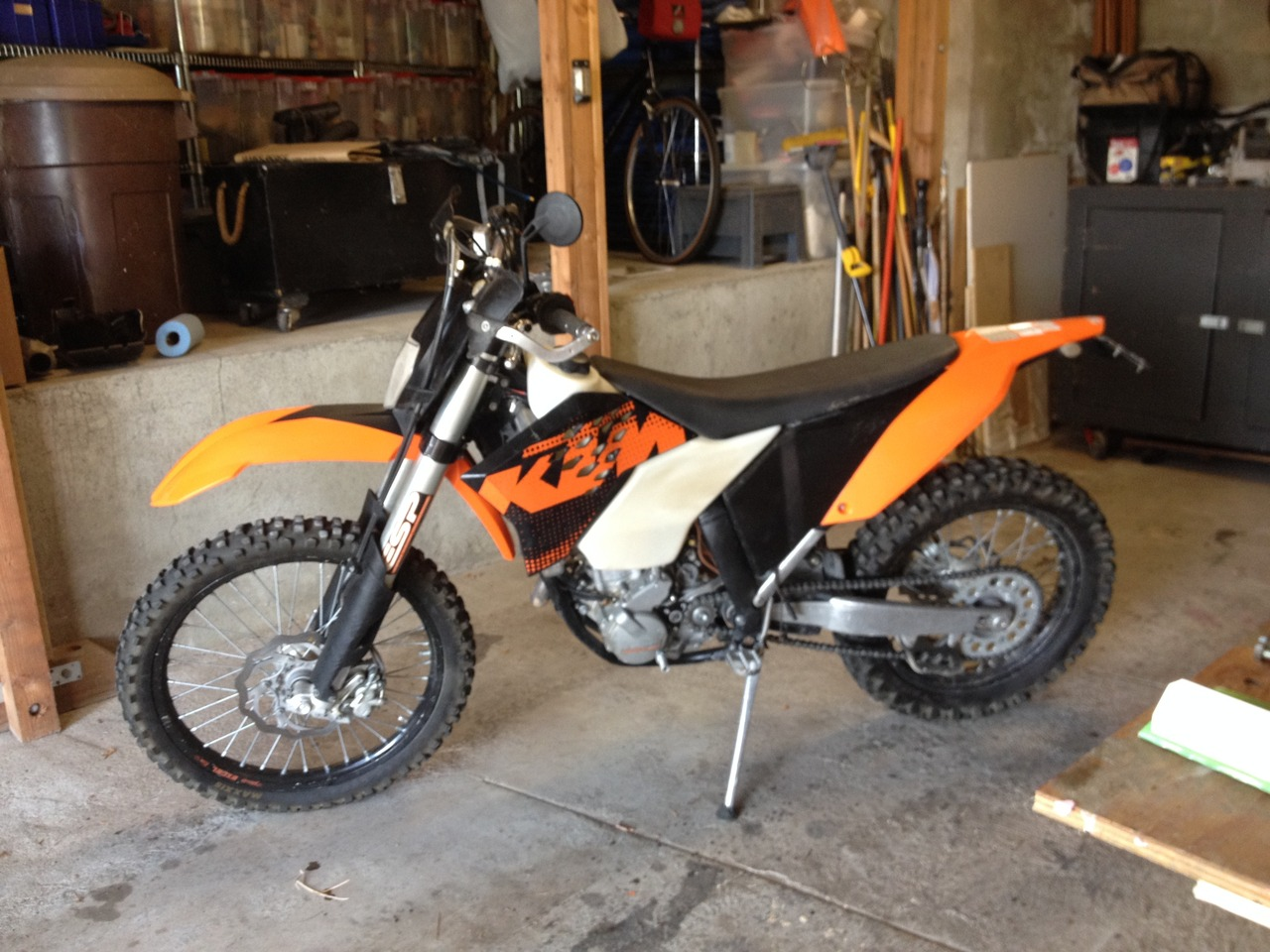 2009 KTM 250 XCF-W, motorcycle listing