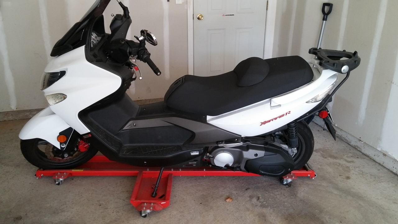 2009 Kymco Exciting 500 EFI, motorcycle listing