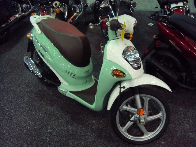 2009 Kymco People 150, motorcycle listing