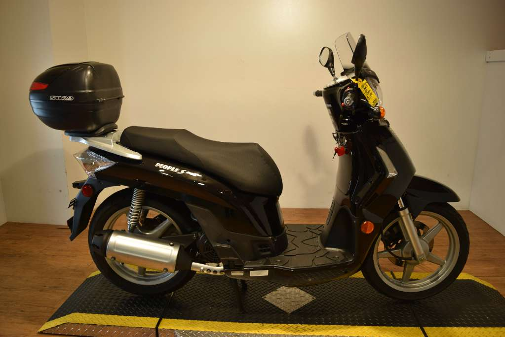 2009 Kymco People S 200, motorcycle listing