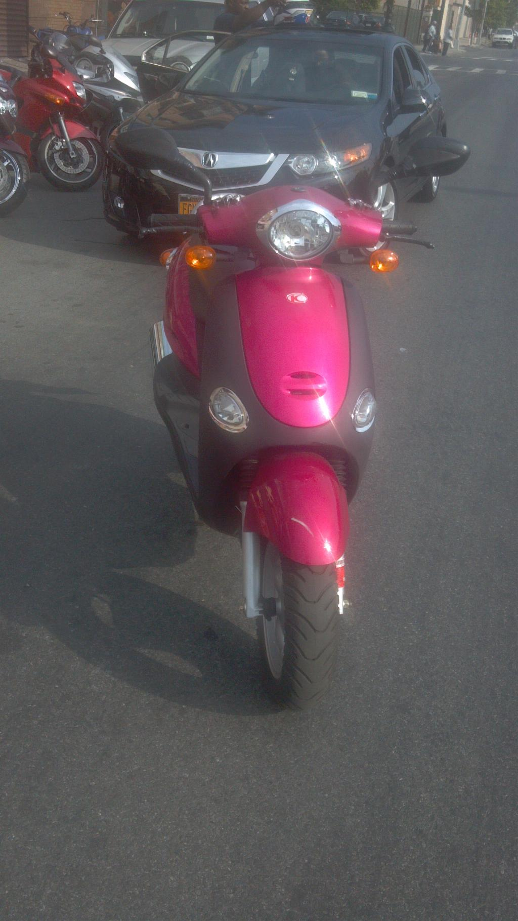 2009 Kymco Sting 50, motorcycle listing
