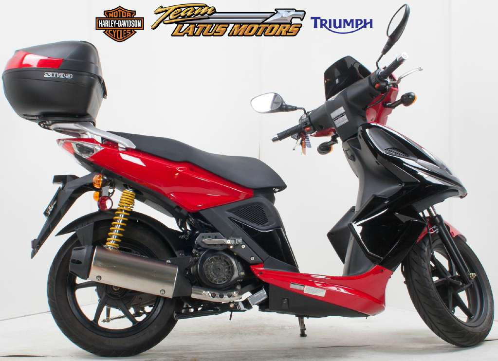 2009 Kymco Super 8 150, motorcycle listing