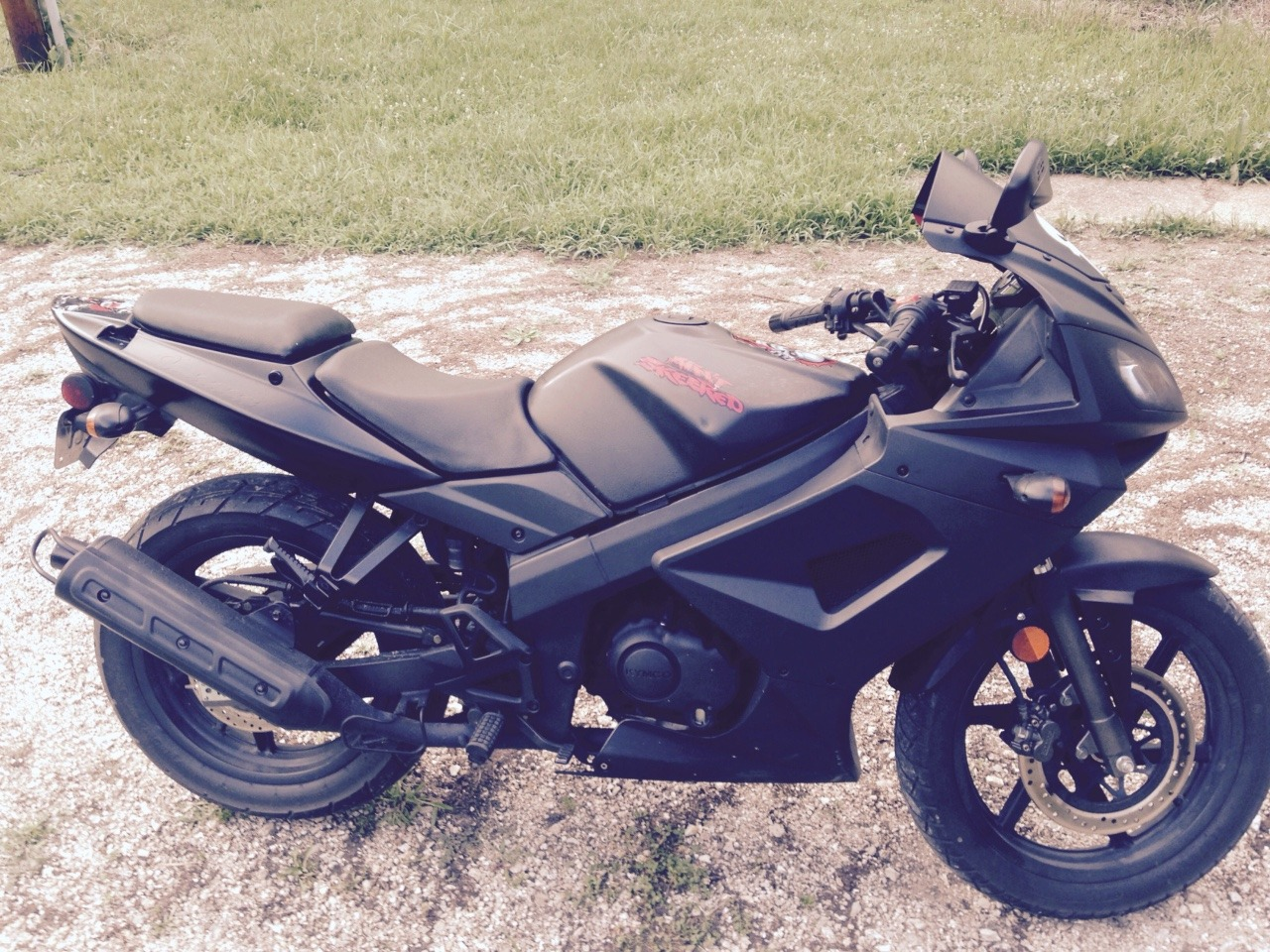 2010 Kymco Quannon 150, motorcycle listing