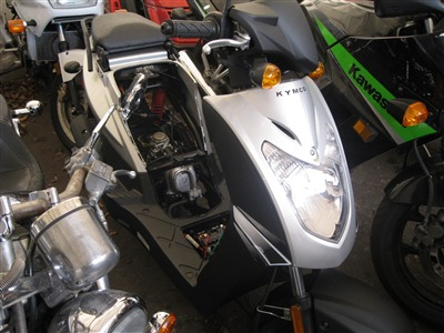2011 Kymco AGILITY504, motorcycle listing