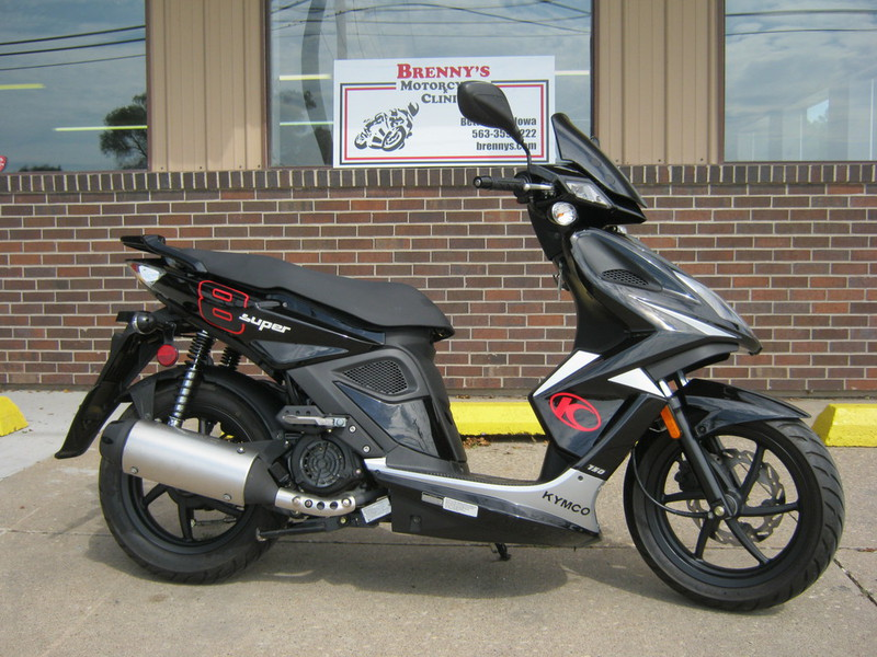 2011 Kymco Super 8 150, motorcycle listing