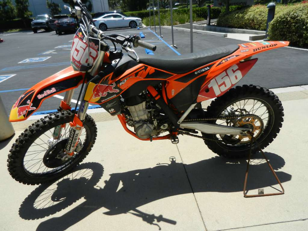 2012 KTM 450 SX-F Factory Edition, motorcycle listing