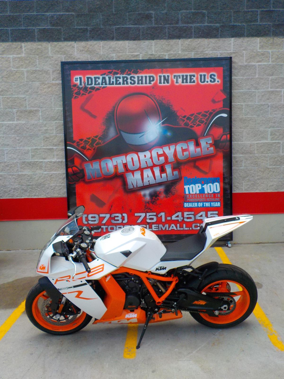 2012 KTM RC8, motorcycle listing