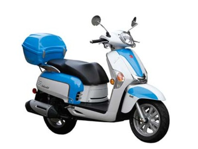 2012 Kymco Like 50 2T LX, motorcycle listing