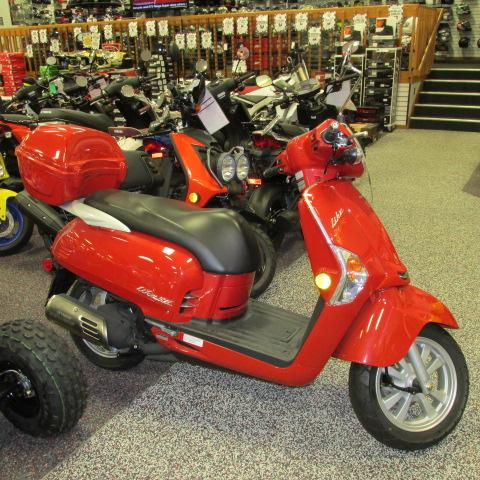 2012 Kymco Like 50 2T, motorcycle listing