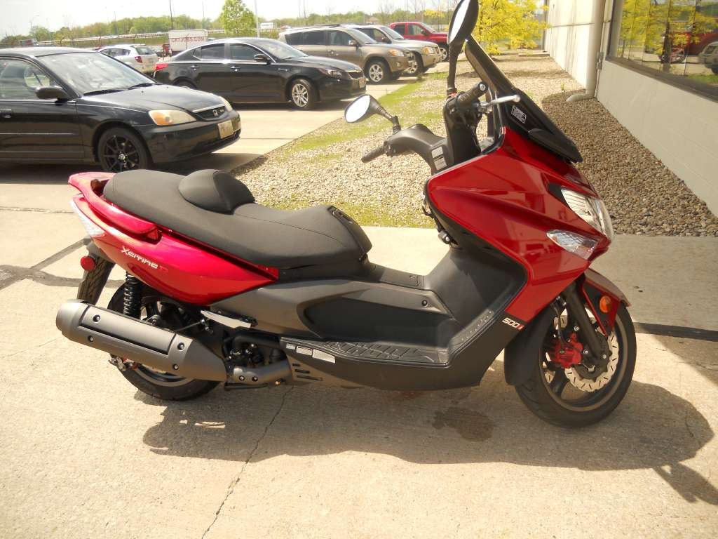 2012 Kymco Xciting 500Ri ABS, motorcycle listing