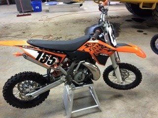 2013 KTM Sx 65, motorcycle listing