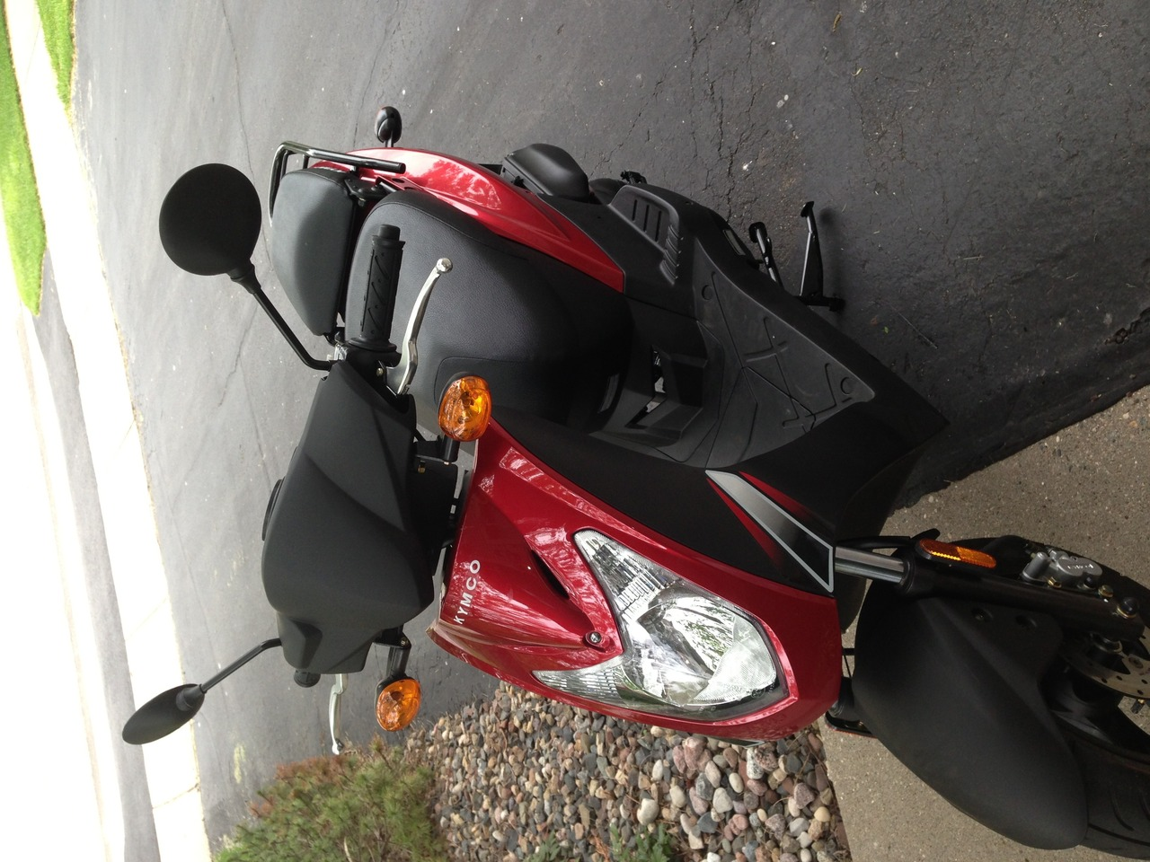 2013 Kymco Agility 50, motorcycle listing