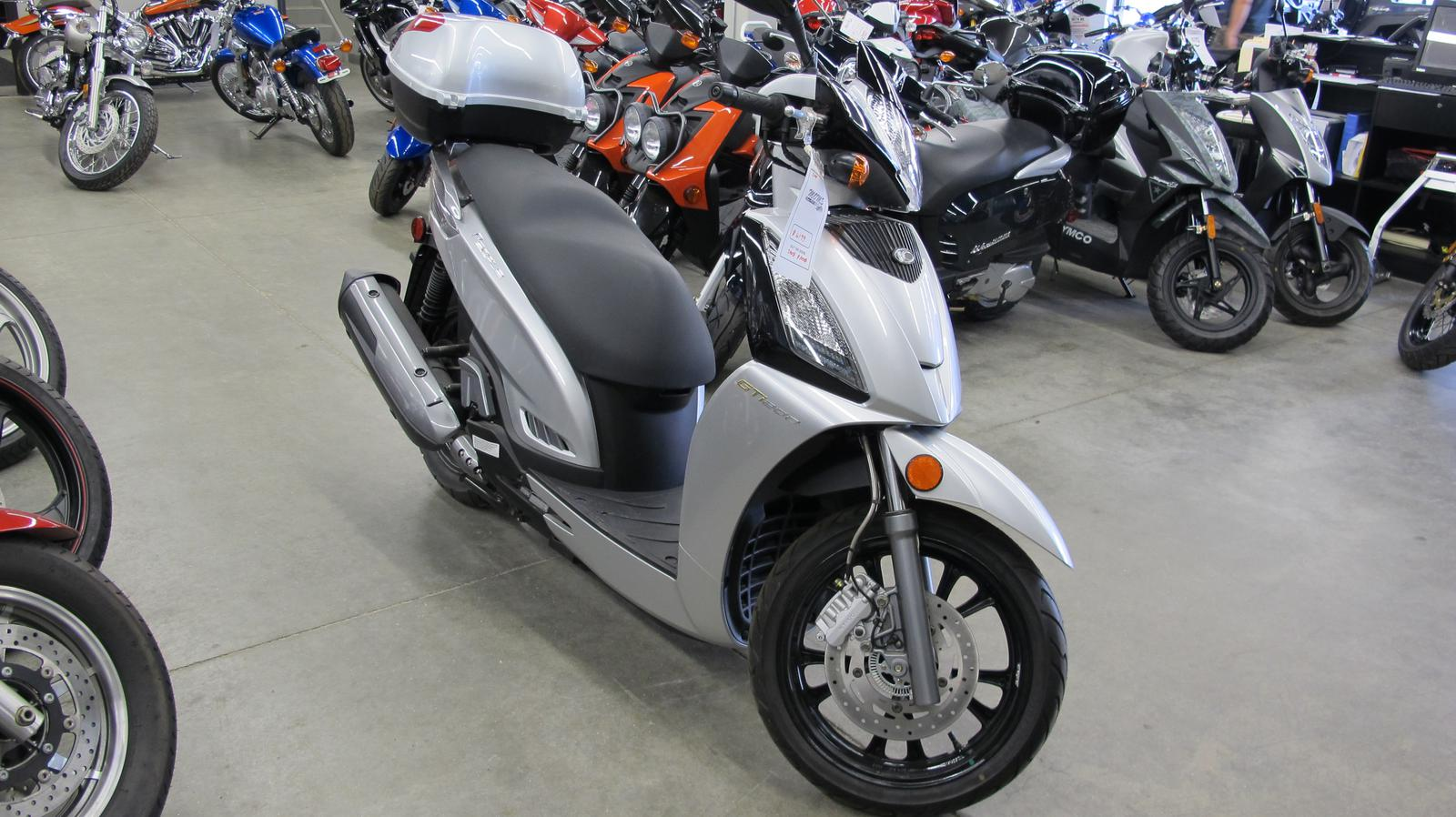 2013 Kymco GT 200i, motorcycle listing