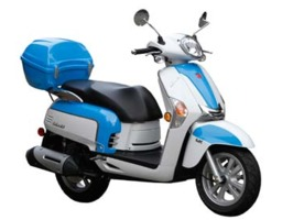 2013 Kymco Like 50 2T LX, motorcycle listing