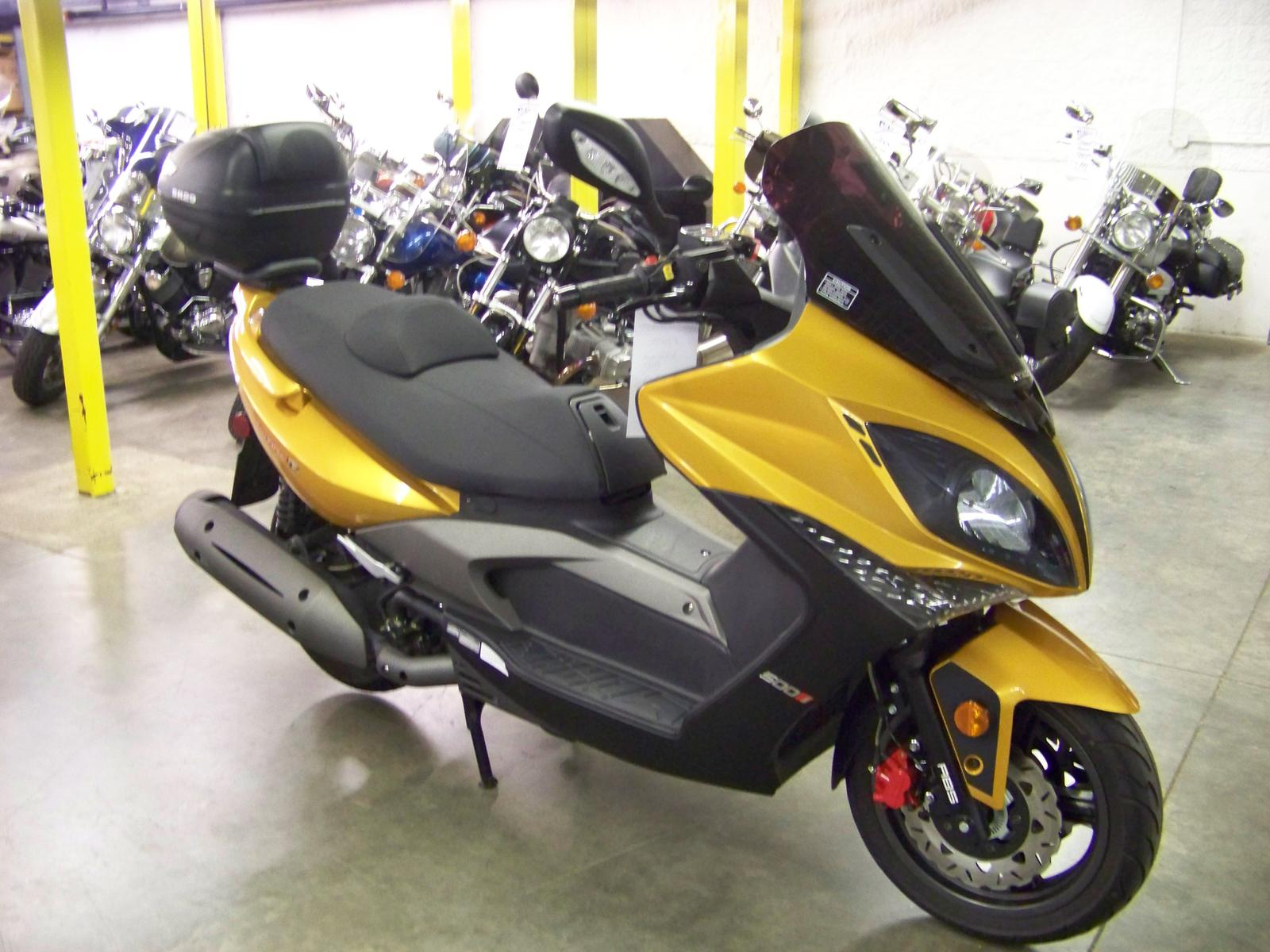 2013 Kymco XCITING 500 Ri ABS, motorcycle listing