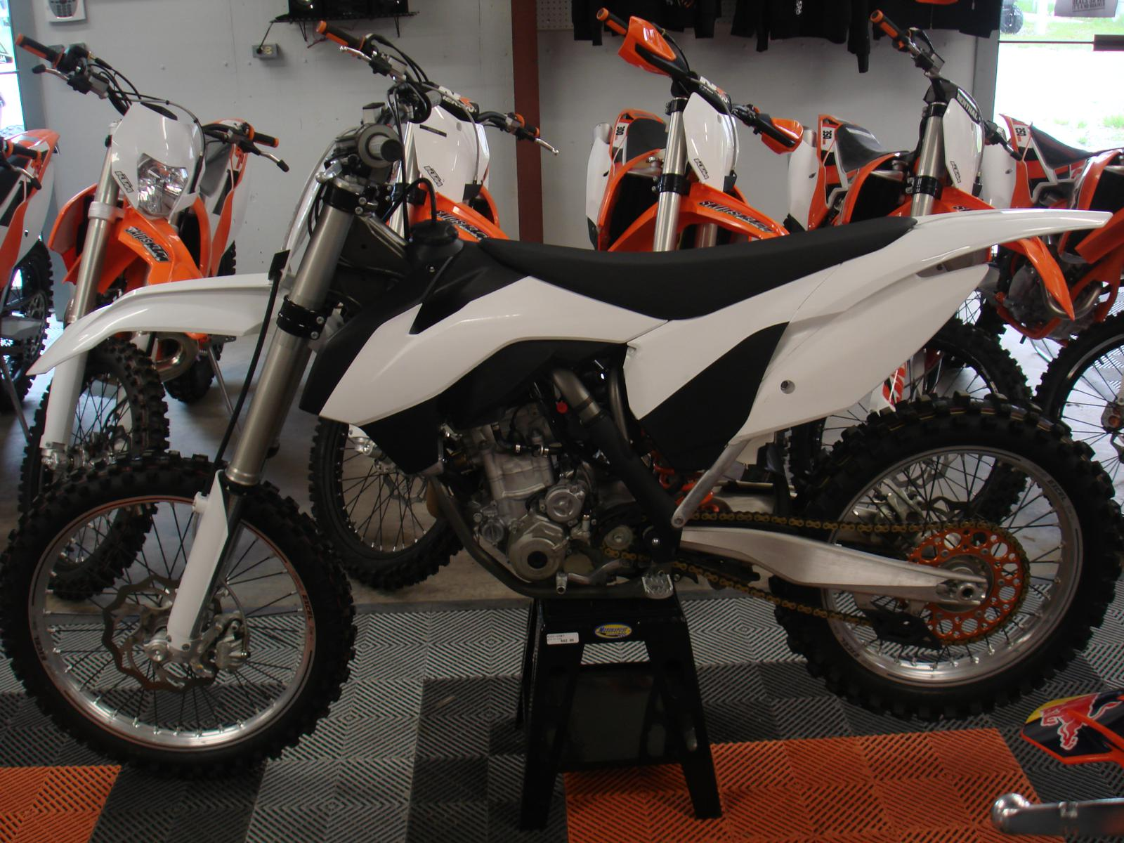 2014 KTM 250 SX-F, motorcycle listing