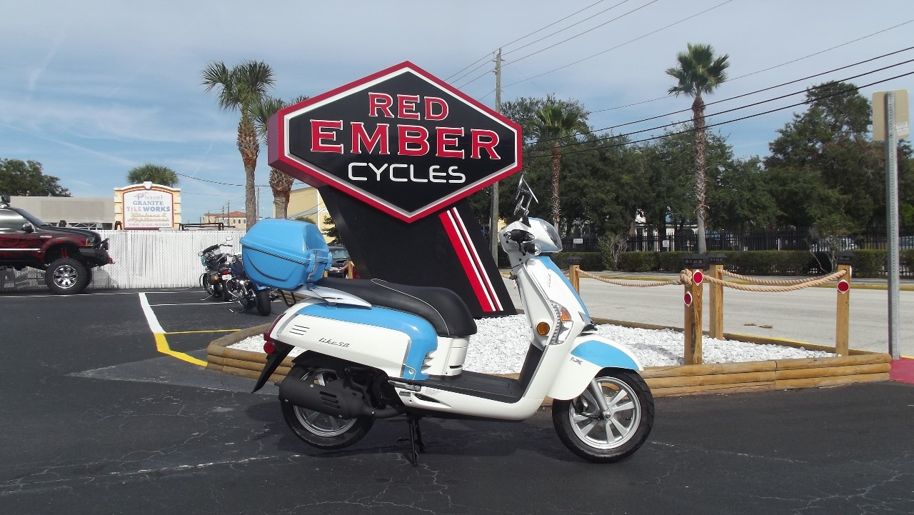 2014 Kymco LIKE 50 2T LX, motorcycle listing