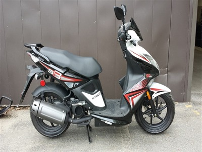 2014 Kymco SUPER8 50, motorcycle listing