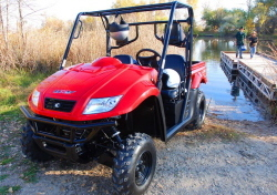 2014 Kymco UXV 500, motorcycle listing