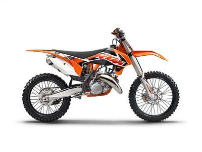 2015 KTM 125 SX, motorcycle listing