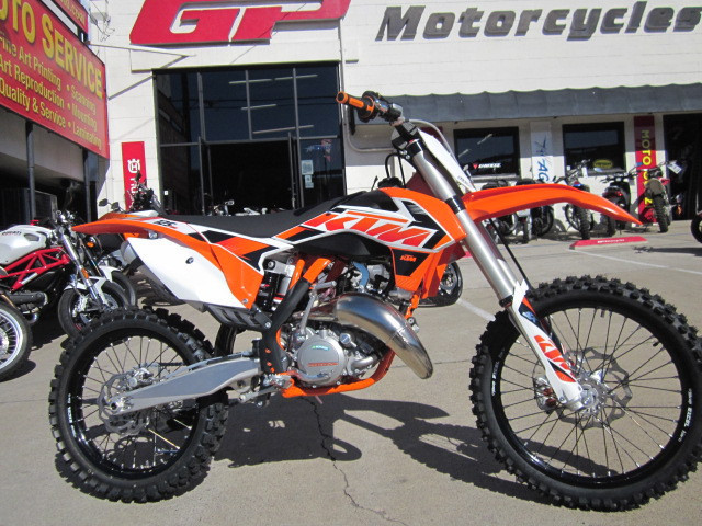 2015 KTM 125SX, motorcycle listing