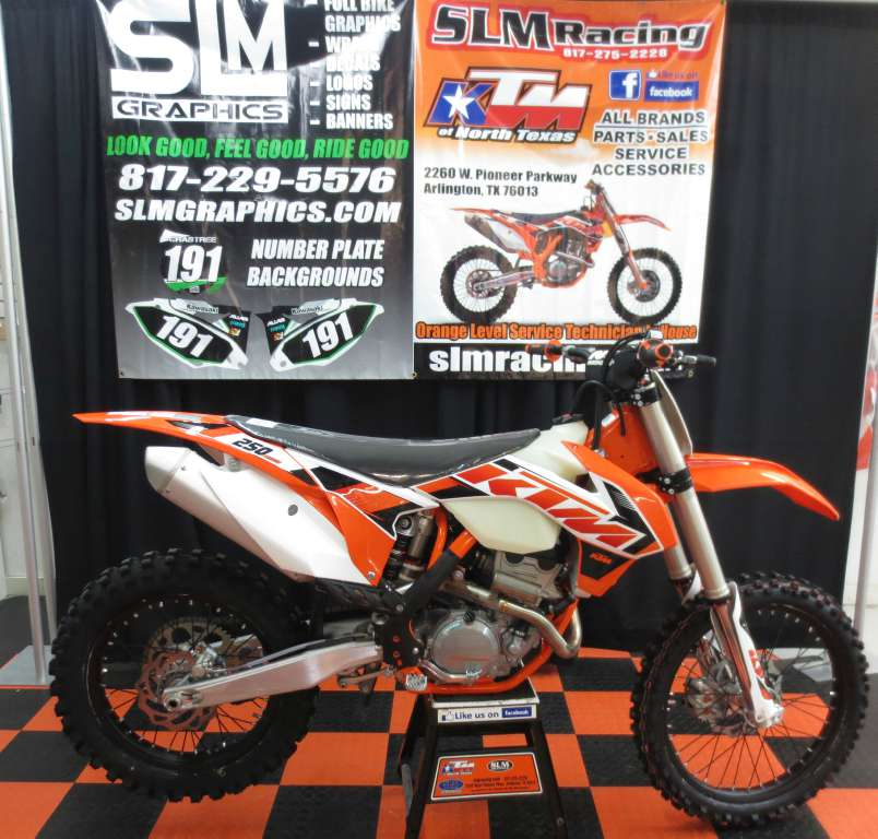 2015 KTM 250 XCF, motorcycle listing
