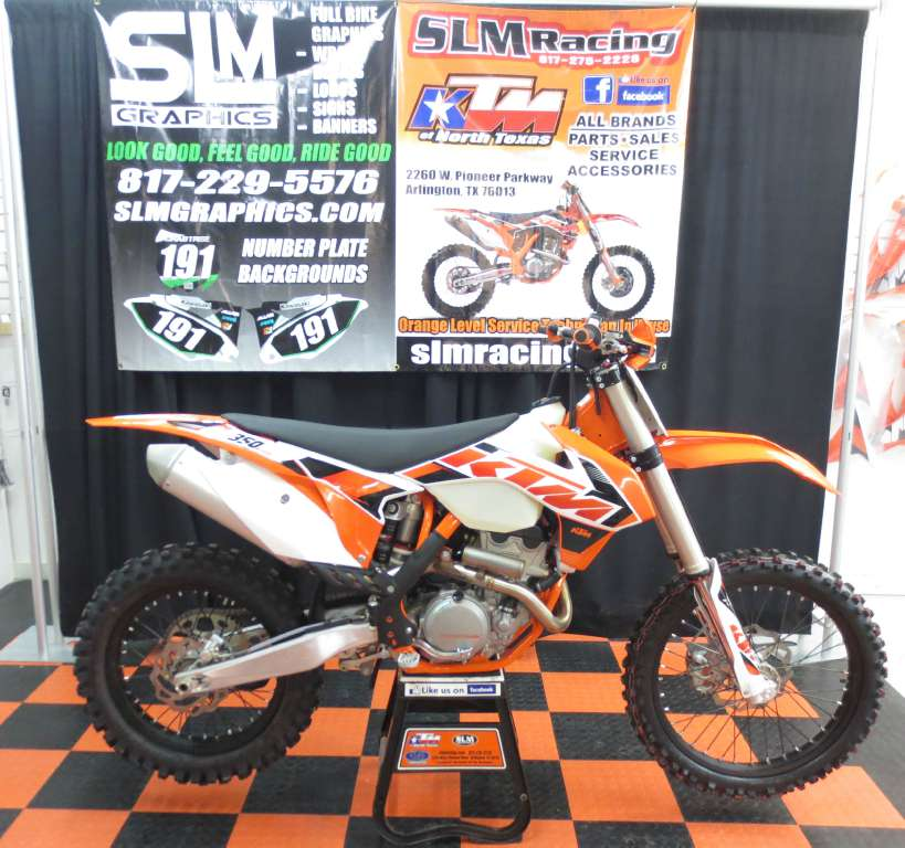 2015 KTM 350 XCf, motorcycle listing