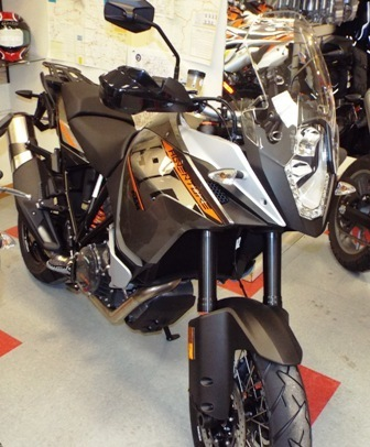 2015 KTM ADVENTURE 1190, motorcycle listing
