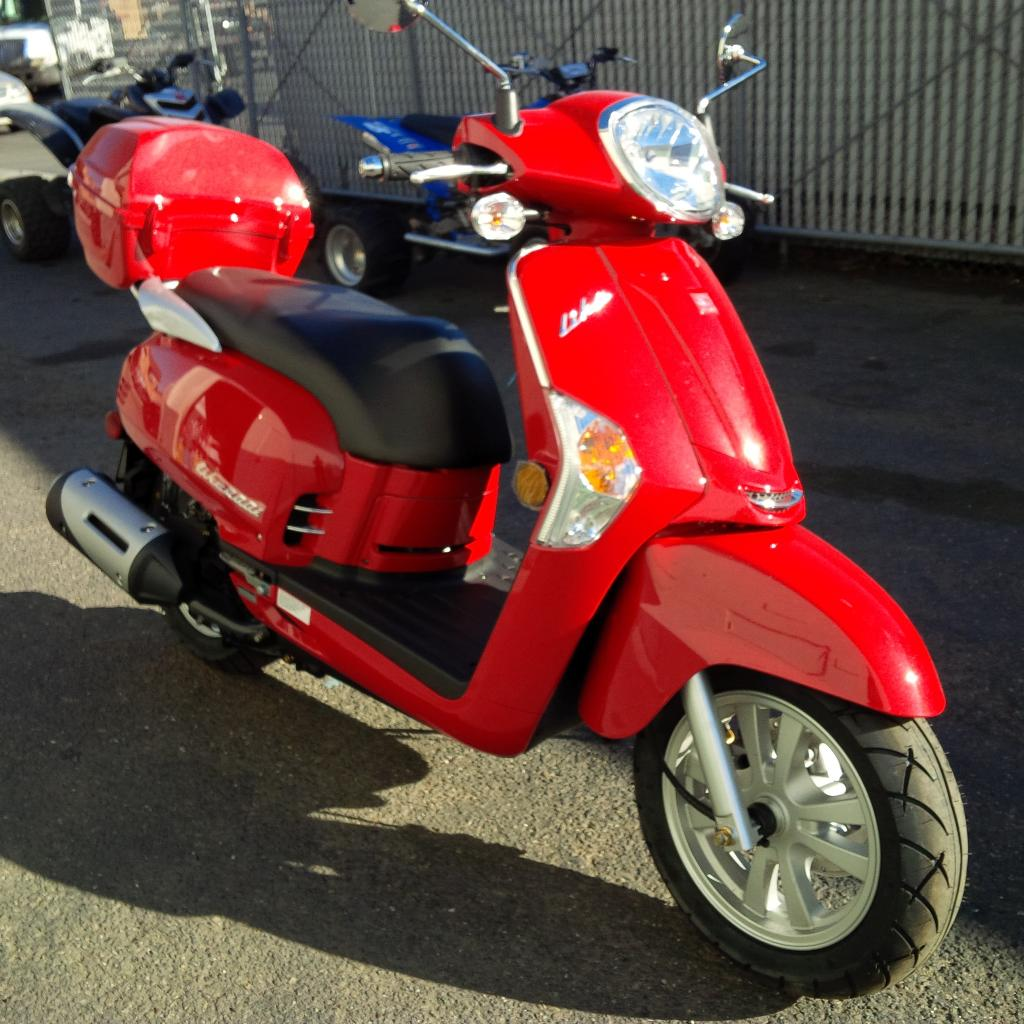 2015 Kymco Like 200i, motorcycle listing