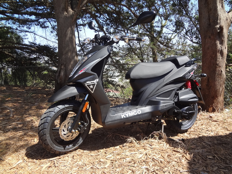 2015 Kymco Super 8 150 X, motorcycle listing