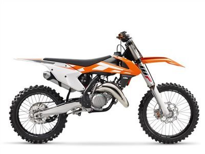 2016 KTM 125 SX, motorcycle listing