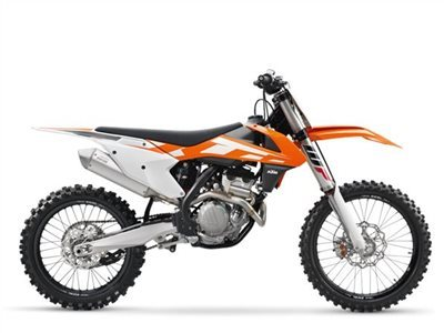 2016 KTM 250 SX-F, motorcycle listing