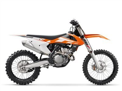 2016 KTM 350 SX-F, motorcycle listing