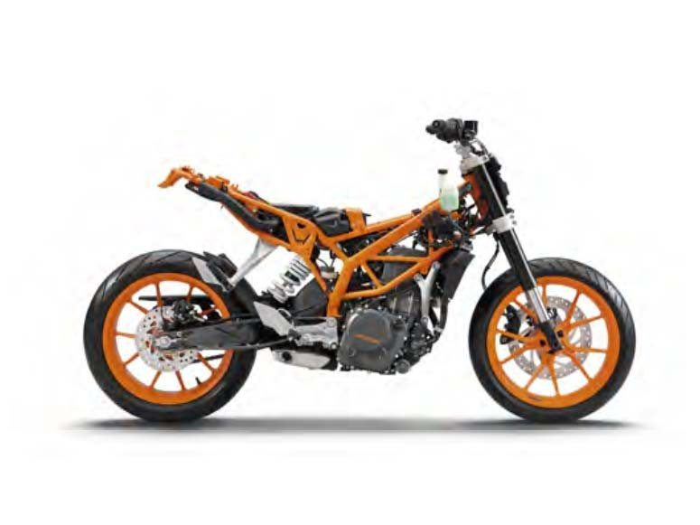 2016 KTM 390 Duke, motorcycle listing