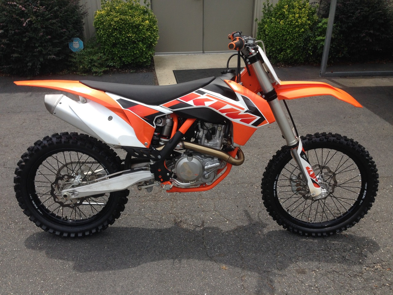 2016 KTM 450 SX-F, motorcycle listing