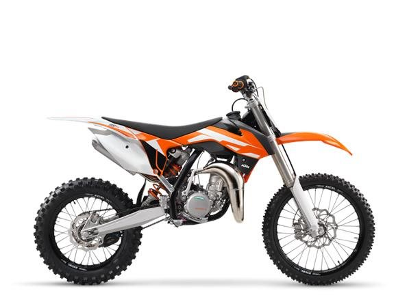 2016 KTM 85 SX 17/14, motorcycle listing