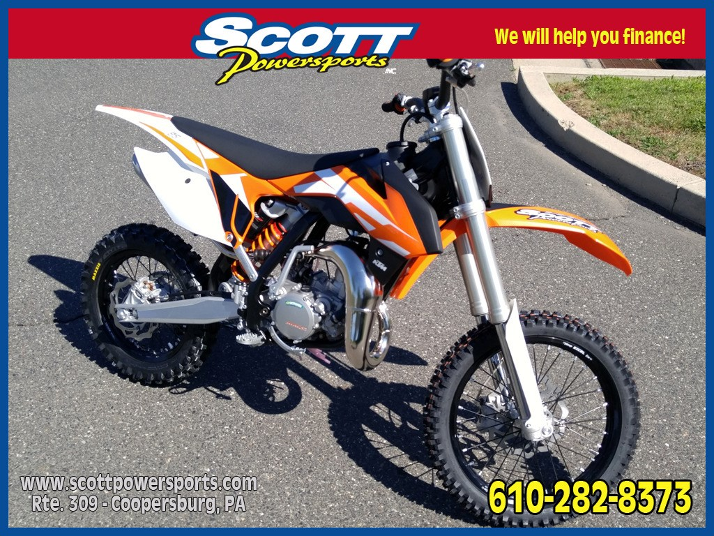 2016 KTM 85SX, motorcycle listing