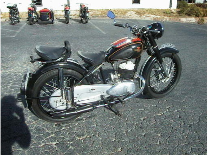 1952 Other Tornax V175, motorcycle listing