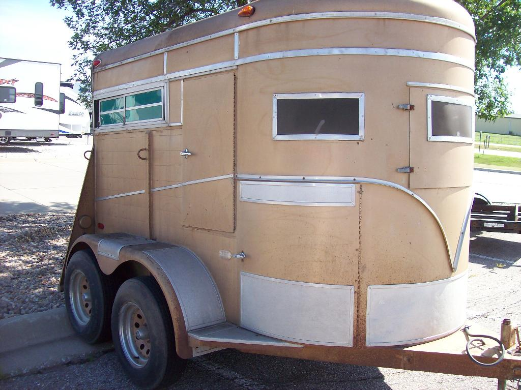 1979 Other 2-Horse Bumper Pull Straigt Load, motorcycle listing