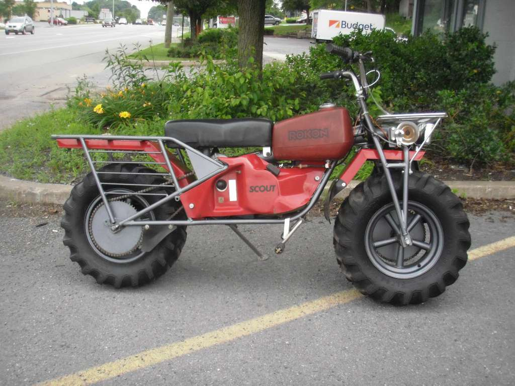 1992 Other ROKON SCOUT, motorcycle listing