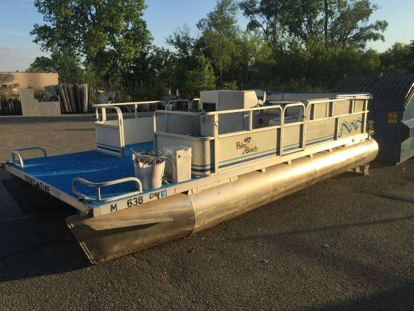 1993 Other Palm Beach Super 220 Pontoon, motorcycle listing