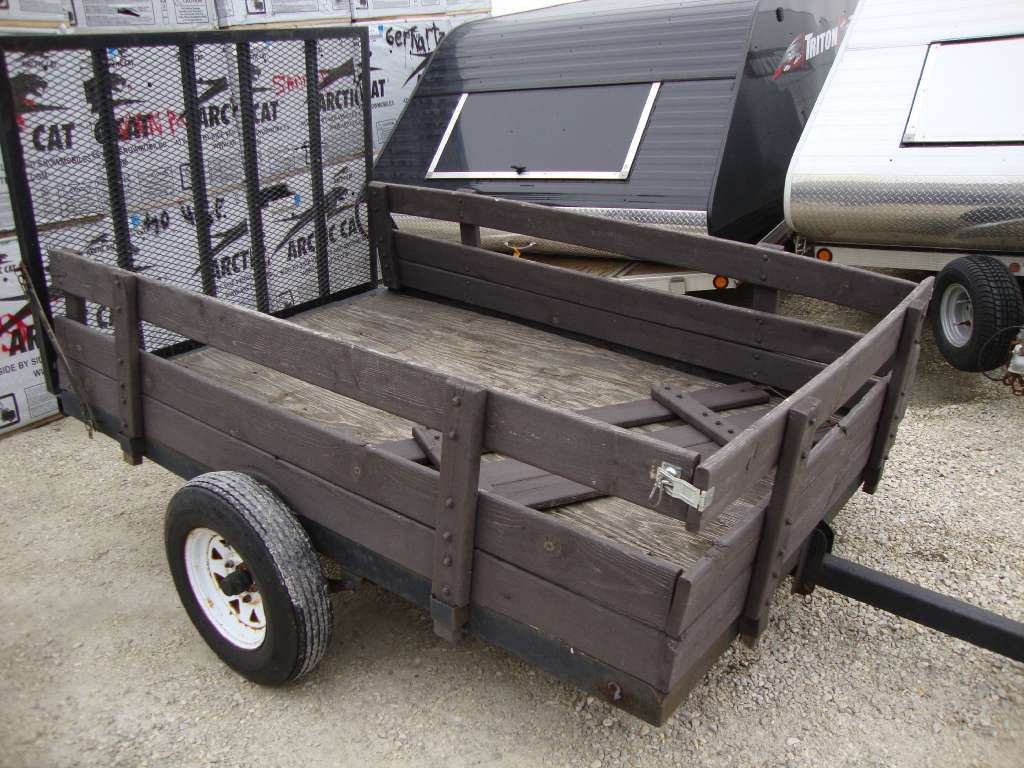 2000 Other 6x8 Utility Trailer, motorcycle listing